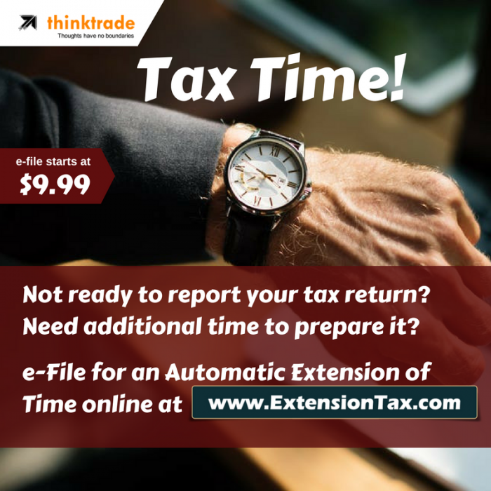 Extension Tax Time!