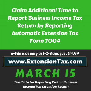 Extension Tax Blog | Federal Tax Extension of Time to file