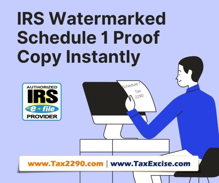 IRS Tax Form 2290 EFiling